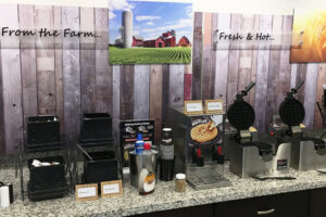 Gundersen Hotel and Suites - Free, Continental Hot Breakfast with Coffee, Tea, and Other Drink Options.