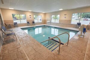 Gundersen Hotel and Suites - Heated Indoor Pool.