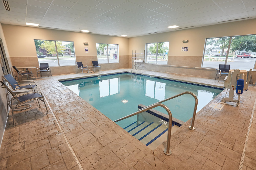 Gundersen Hotel and Suites - Heated Indoor Pool.